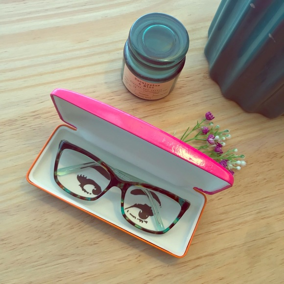3c74aa5e3ed kate spade Accessories - EUC kate spade ♤ green havana cortina eyeglasses
